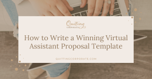 How to Write a Winning Virtual Assistant Proposal Template